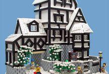 Lego / Me encanta el fantástico mundo de Lego, como pueden reproducir todo con sus ladrillos. Son geniales!  / by Lety Viveros