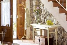 Decor - Entryway & Foyers / Structure, design, & decor / by CsGram