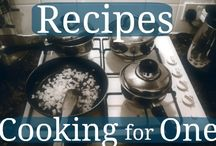 Cooking for One / Meals for 1 Person / by Jane Elekonich