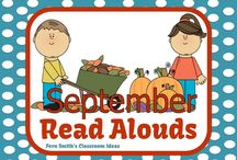 September Read Alouds / A collection of September read alouds for elementary teachers. {Back to School, Apples, Johnny Appleseed, Classroom Behavior}  / by Fern Smith