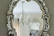 MIRROR...MIRROR...on the WALL / beautiful mirrors...modern, vintage, and decorative, for the home. / by Elisabeth Pregadio