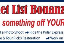 Bucket List Bonanza / by NV Northern