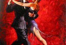 Art I like - Dance together / by weildkat art and design.com