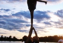 cheerleading<3 / by Hannah Geluso