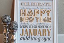 Holidays - New Year's Eve Ideas / New Year's Eve crafts, printables, activities, food and more.  / by Jen @ TheSuburbanMom.com