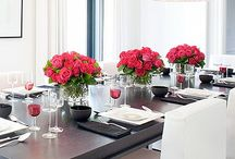 Dining in Style / Table setting, decorations, accessories, centerpieces, dinnerware, silverware.. / by Abeer Nafie