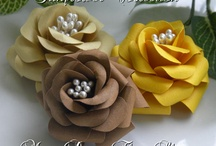Handmade Flowers and Bows / by Robbin Burris