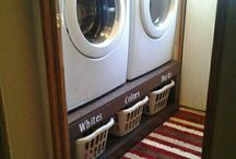 Laundry room / by Lindsay Fonua