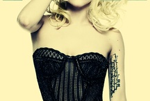 Gaga for Gaga / lady gaga, famous, musician, fashion, chameleon / by Tessa