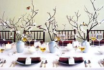 table centerpieces / by Kae Fisher