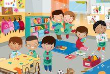 Kids--School Days, School Days, Good old fashioned school days !!!!!!!!!!!!!! / by Mickey Betz