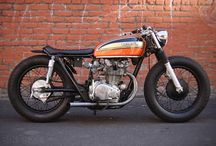 Cafe racers and brat bikes / by Leon Witherow