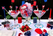 Red, White & Blues  / Smirnoff's Party Posse - Jenny, Lolita and Phoebe - have thought of everything to help make your 4th of July party sparkle. / by Smirnoff US