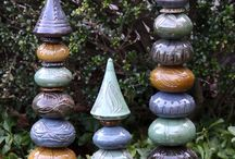 Yard Art / Junk you try to make look cool for your yard! / by Colleen Glidden Gunderman