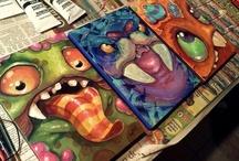6th grade art lessons / by Jessica Lynn