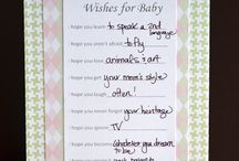 Baby shower / by Christiana Hanes