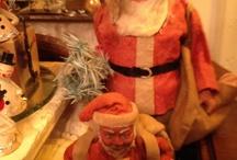 Vintage Christmas decorations / Vintage Christmas  / by Carol Eaton Walsh