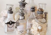 ALTERED BOTTLE IDEAS / by Lucy @ Patina Paradise