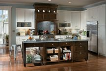 Key Largo Maple/Knotty Alder Walnut / Schuler Cabinetry exclusive at Lowe's / by Schuler Cabinetry