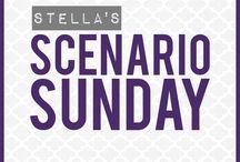 "Scenario Sunday / Kinda like ""Dear Abby,"" but more big-sisterly.  <3 / by Stella Reynoso"