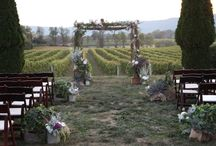 Breaux Vineyard Weddings / by Holly Heider Chapple Flowers Ltd.