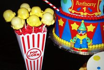 Circus Theme 1st Birthday Party Ideas / by Wendy Buehrig