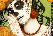 Dia De Los Muertos / Perhaps The Most Meaningful Holiday Of All. / by Day of the Thread