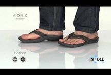 Vionic Orthaheel Sandals, Slippers, & Footwear - Videos / Featuring the Best in Orthotic Arch Support from Vionic with Orthaheel Technology in Men's & Women's Sandals, Slippers, Wedges, & Shoes / by The Insole Store.com