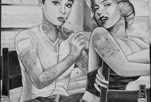 tattoos / by Andre Natasha Evans