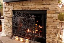 fireplaces / by Marcia Tucker