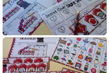 kindergarten sight word centers / by Emily Miller