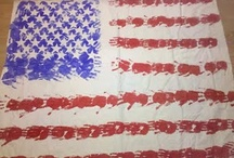 America for Kindergarten / Lot's of holidays that celebrate the red, white, and blue!  All found here! / by Simply Kinder