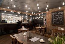 Cafes, restaurantes y tiendas / by Edgar Zárate