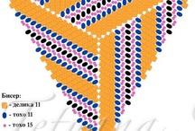 Beading        Triangulos y mas / by Martha Rodriguez
