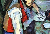 art :: Paul Cézanne 1839-1906 post-impressionism / by Bori Bacsó