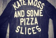 Kate Moss & Some Pizza Slices / 90s, style, grlzzz, Kate & then / by mara hoffman