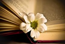 Books, flowers, and fruits. / by D Cm
