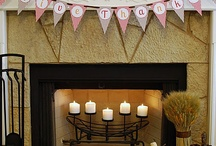 Fireplace Mantel Decorations / by Caitlynn Leslie