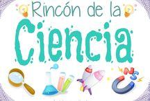 Rincon de la ciencia / by patri ruiz ruiz