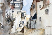 Art-Watercolors & WC Tutorials #1 / by Joanna Lazuchiewicz