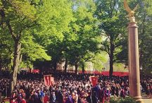 Commencement 2014 / Hats, gowns, happy tears, and an Eagle flying over the crowd can only mean it's scenes from the 2014 graduation. Congratulations Class of 2014! / by Boston College Alumni
