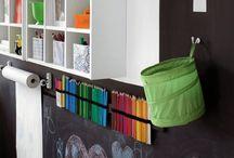 Play/School Room Idea Board / by Modern Mrs Darcy (Anne Bogel)