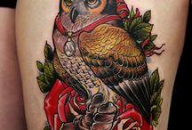 tattoos / by Kayla Hitzler