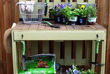 DIY Potting Bench / by Chavi Singer