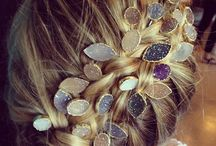 hair. tresses. coiffure. / For hair styles that are long & luxurious to short & sweet, we present some of our favorite ways to style & accessorize your crowning glory! / by Mickey Lynn Jewelry