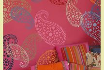 Walls / Pintura i dissenys per a les pareds / by Maria Santonja