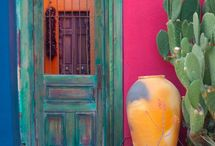 Spanish Art and Design / by Terrie Hall T. Hall Interiors