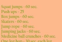 Full body workouts and inspiring quotes / by Erica Ritchie