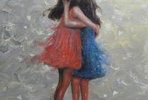 Amigas y hermanas / by Pilar María Cieza