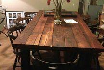 DInning Room Tables / by Jamie Salmela